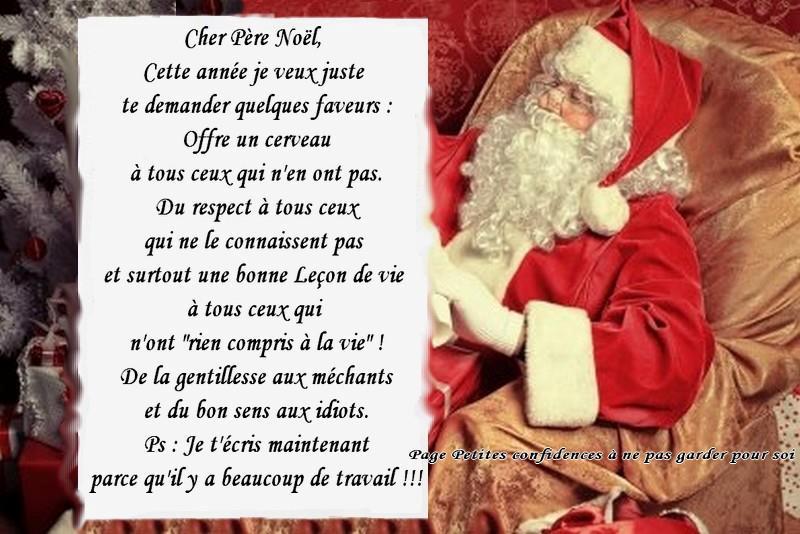 Lettre au Père Noël...